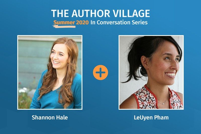 Webinar: Chasing Unicorns with Shannon Hale and LeUyen Pham