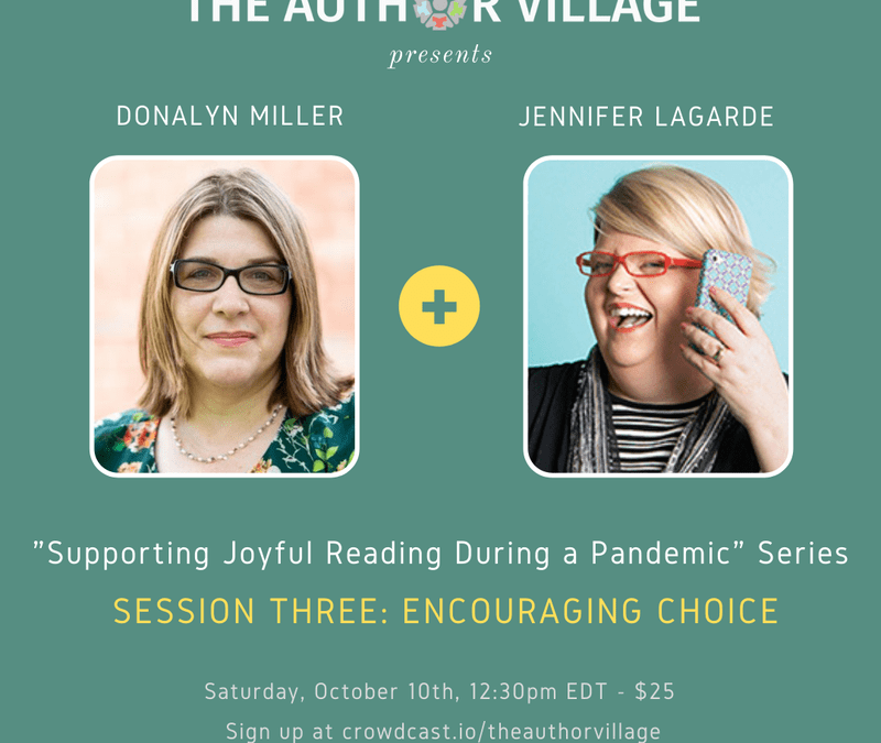 Webinar: Supporting Joyful Reading During a Pandemic – Encouraging Choice