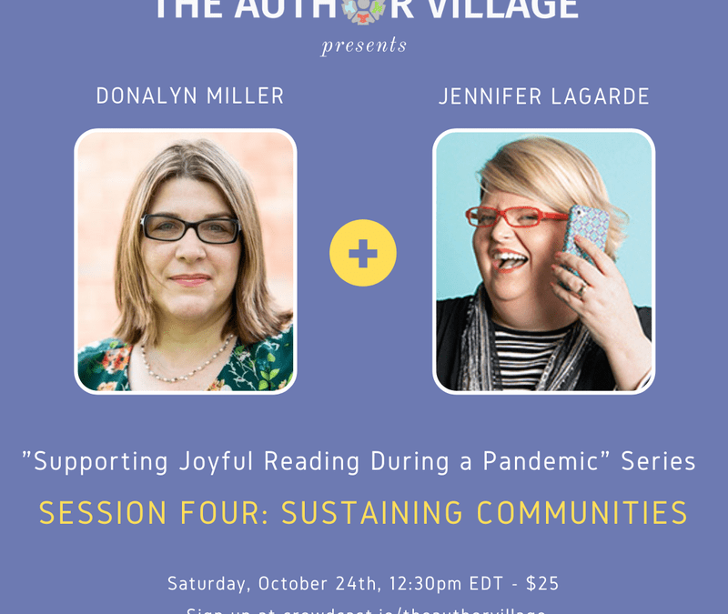 Webinar: Supporting Joyful Reading During a Pandemic – Sustaining Communities